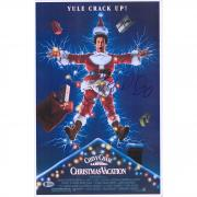 """Beverly D'Angelo Christmas Vacation Autographed 12"""" x 18"""" Movie Poster - BAS"""