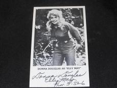 Beverly Hillbillies Donna Douglas Signed Vintage 4x6 Autograph Photo JB5