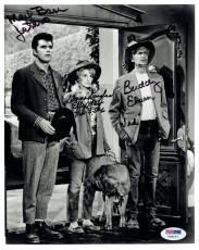 Beverly Hillbillies Signed Autographed 8x10 Ebsen/Baer/Douglas PSA/DNA #V08216