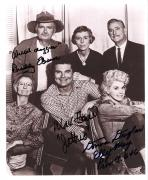 "Signed Max Baer Picture - BEVERLY HILLBILLIES"" by BUDDY EBSEN Passed Away 2003), JR., DONNA DOUGLAS 7x9 B W"