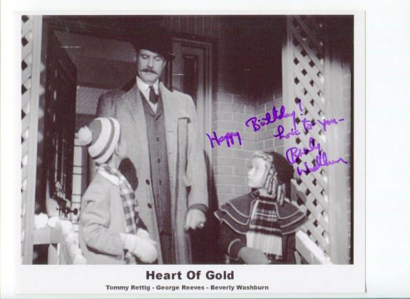 Beverly Washburn Star Trek Heart Of Gold Signed Autograph Photo