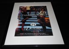 Beyonce 2007 House of Dereon 11x14 Framed ORIGINAL Vintage Advertisement