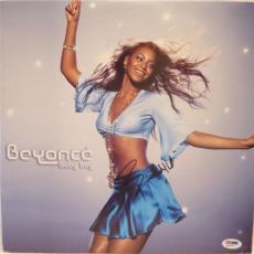 Beyonce Baby Boy Signed Autographed Album Psa/dna Q31371