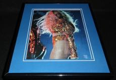 Beyonce in concert 2016 New Orleans Framed 11x14 Photo Display