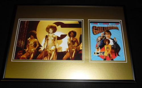 Beyonce Knowles Austin Powers Goldmember Framed 12x18 Photo Display