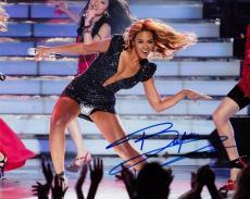 Beyonce Knowles Autographed Concert 8x10 Photo