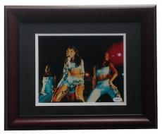 Beyonce Knowles Destinys Child signed 8x10 photo framed autograph JSA COA