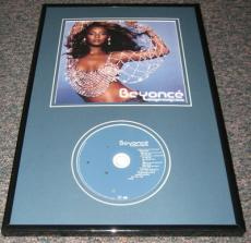 Beyonce SEXY Framed Dangerously in Love CD & Photo Display 11x17