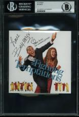 Beyonce Signed The Fighting Temptations Soundtrack CD Cover BAS Slab