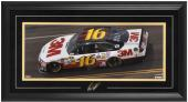 Greg Biffle Framed Mini Panoramic with Facsimile Signature