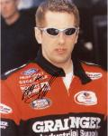 BIFFLE, GREG AUTO (GRAINGER/FRONT VIEW) 8X10 PHOTO - Mounted Memories