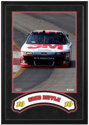 Greg Biffle Framed Iconic 16'' x 20'' Photo with Banner - Mounted Memories
