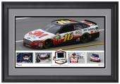 Greg Biffle Framed Collage with Race-Used Tire-Limited Edition of 500 - Mounted Memories