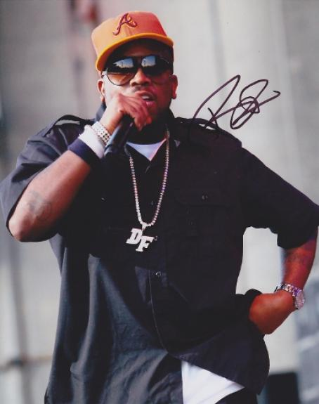 Big Boi Signed - Autographed OUTKAST 8x10 inch Photo - Guaranteed to pass  BAS