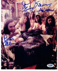 Big Brother and the Holding Co Janis Joplin Band 4x signed 8x10 photo PSA/DNA
