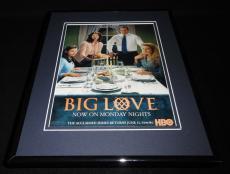 Big Love 2007 Framed 11x14 ORIGINAL Vintage Advertisement HBO Bill Paxton