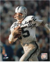 Fred Biletnikoff Oakland Raiders Autographed 8'' x 10'' Ball in Left Hand Photograph with HOF 88 Inscription - Mounted Memories