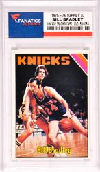 Bill Bradley New York Knicks 1975-76 Topps #37 Card