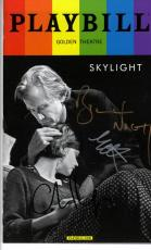 Bill Carey Matthew Autographed Signed X3 Skylight Playbill UACC RD AFTAL COA