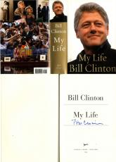 Bill Clinton Autographed Signed My Life Book Title Page AFTAL UACC RD COA