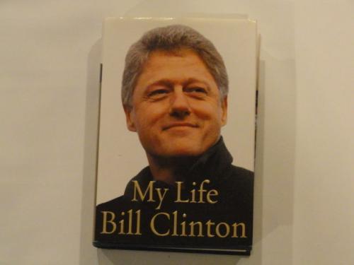 "Bill Clinton Hillary Rodham Clinton Signed ""my Life"" Book 45th President Jsa Loa"