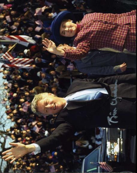 Bill Clinton Jsa Coa Hand Signed 8x10 Photo Authentic Autograph
