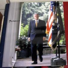 Bill Clinton President Of The United States Signed 8x10 Photo Coa Hillary