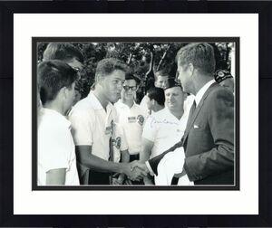 BILL CLINTON SIGNED AUTOGRAPH 11x14 PHOTO PRESIDENT, HILLARY, JFK JOHN F KENNEDY