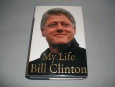 """BILL CLINTON signed autographed """"MY LIFE"""" BOOK PSA/DNA LOA! FIRST EDITION!"""