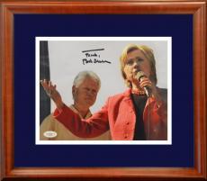Bill Clinton Signed Photo w/Hillary Clinton
