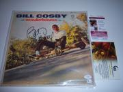 Bill Cosby Wonderfulness Jsa/coa Signed Lp Record Album