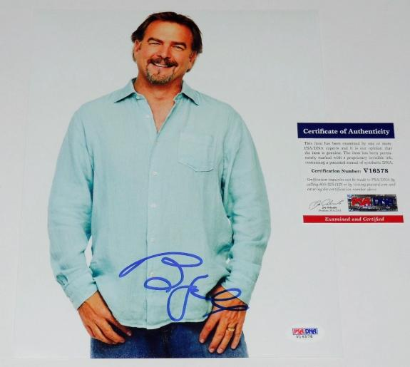 Bill Engvall Autographed 8x10 Color Photo (blue Collar Comedy) - Psa Dna!
