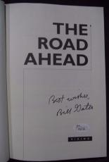 "Bill Gates Microsoft Ceo Legend Signed Autographed ""the Road Ahead"" Book Jsa Loa"