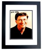 Bill Gates Signed - Autographed Microsoft co-founder - Computer Pioneer 5x7 inch Photo - BLACK CUSTOM FRAME - Guaranteed to pass JSA or Beckett