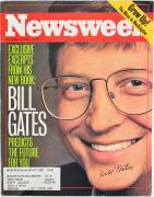 Bill Gates Signed November 27, 1995 Newsweek Magazine PSA/DNA #AB12896