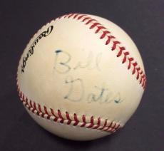 Bill Gates Signed OFFICIAL NL Baseball Autograph 1/1 Microsoft Windows JSA Coa