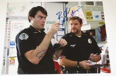 Bill Hader Seth Rogen Signed 11x14 Photo Superbad Coa Autograph Free Shipping
