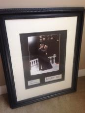 Bill & Hillary Clinton Autographed Signed Custom Dancing Photo Display JSA AFTAL