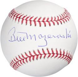 Bill Mazeroski Autographed Baseball