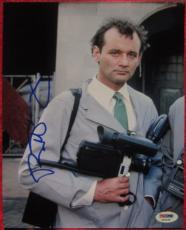 Bill Murray Ghostbusters signed 8x10 photo PSA/DNA autograph