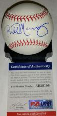 Bill Murray signed auto ball PSA/DNA Cubs Ghostbusters SNL CaddyShack baseball