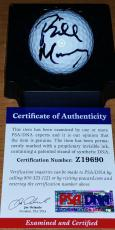 Bill Murray Autographed Football - PSA DNA Golf CaddyShack SNL ghostbusters