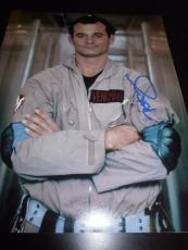 Bill Murray Autographed Photo - 11x14 Ghostbusters In Person Coa X5