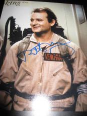 Bill Murray Autographed Photo - 8x10 GHOSTBUSTERS RARE AUTHENTIC COA D