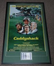 Bill Murray Signed Framed 27x43 Caddyshack Poster Photo Display PSA/DNA