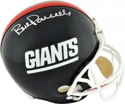 Riddell Bill Parcells New York Giants Autographed Full Size Replica Helmet - Mounted Memories