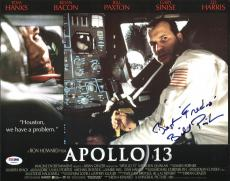 Bill Paxton Apollo 13 Signed 11X14 Lobby Card Photo PSA/DNA #H38664