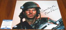 Bill Paxton Signed 11x14 Aliens w/Quote Private Hudson Titanic  BAS Beckett