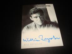 Bill Reynolds Signed 2000 Rittenhouse Twilight Zone Certified Autograph A14