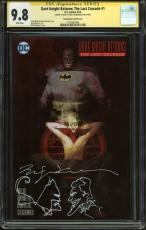 Bill Sienkiewicz Signed Dark Knight Returns w/ Batman & Joker Sketch CGC 9.8